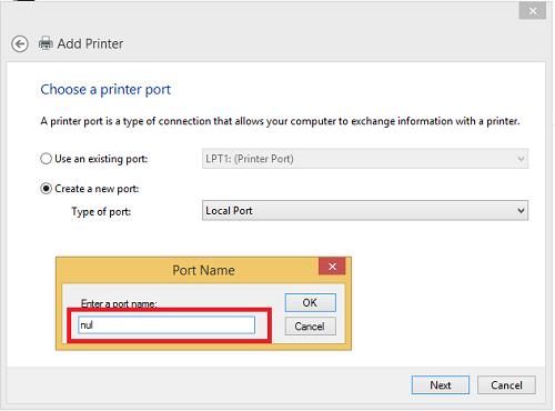 Printer-Local